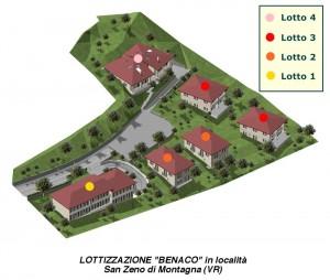 Rendering del Progetto Benaco a S. Zeno di Montagna