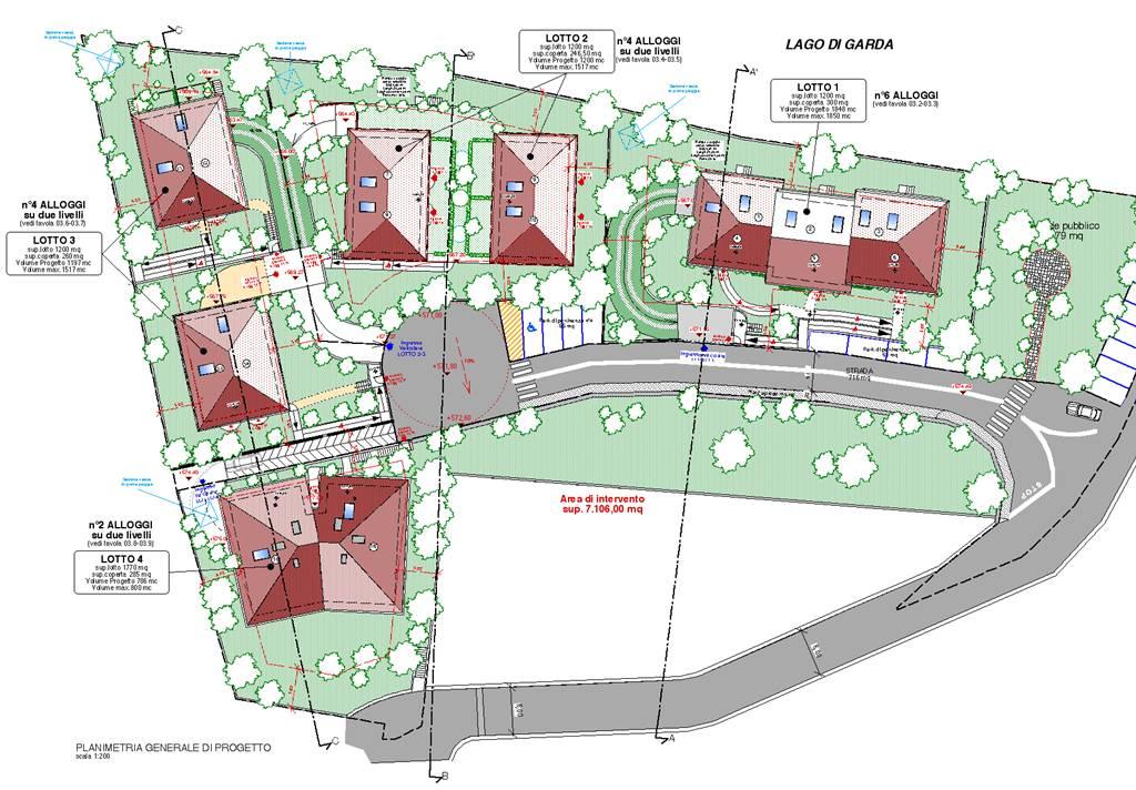 Vendita villette san zeno di montagna lottizzazione benaco for Progetto del piano di costruzione