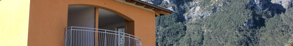 Dettaglio della villetta nr. 2 - Riva del Garda
