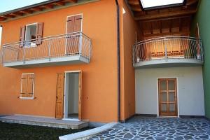 Vista Ovest Casa Nr.2 in vendita a Riva del Garda