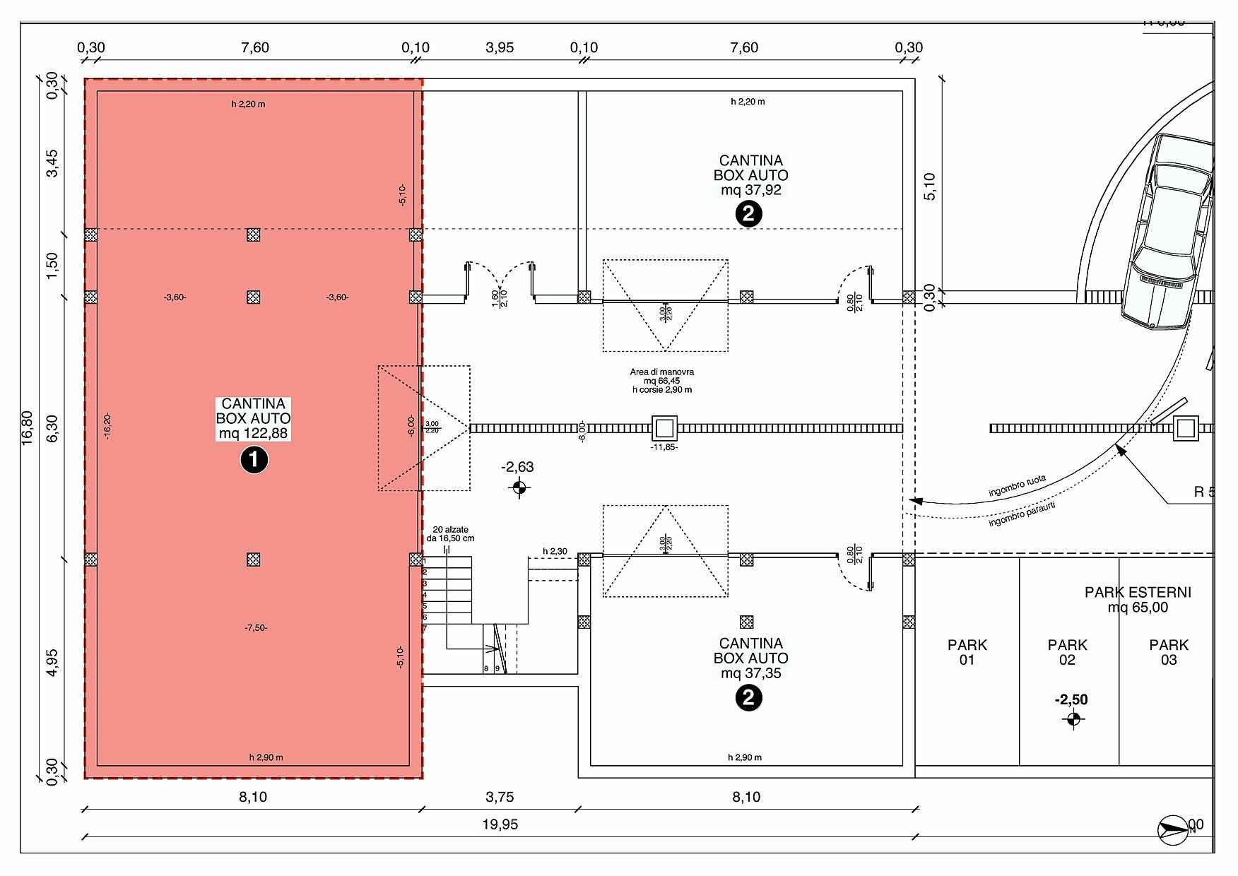 Villetta a schiera casa 1 rigatelli costruzioni for Progettista del piano interrato