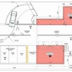Pianta p. Interrato - Villetta 3 in vendita a Riva del Garda