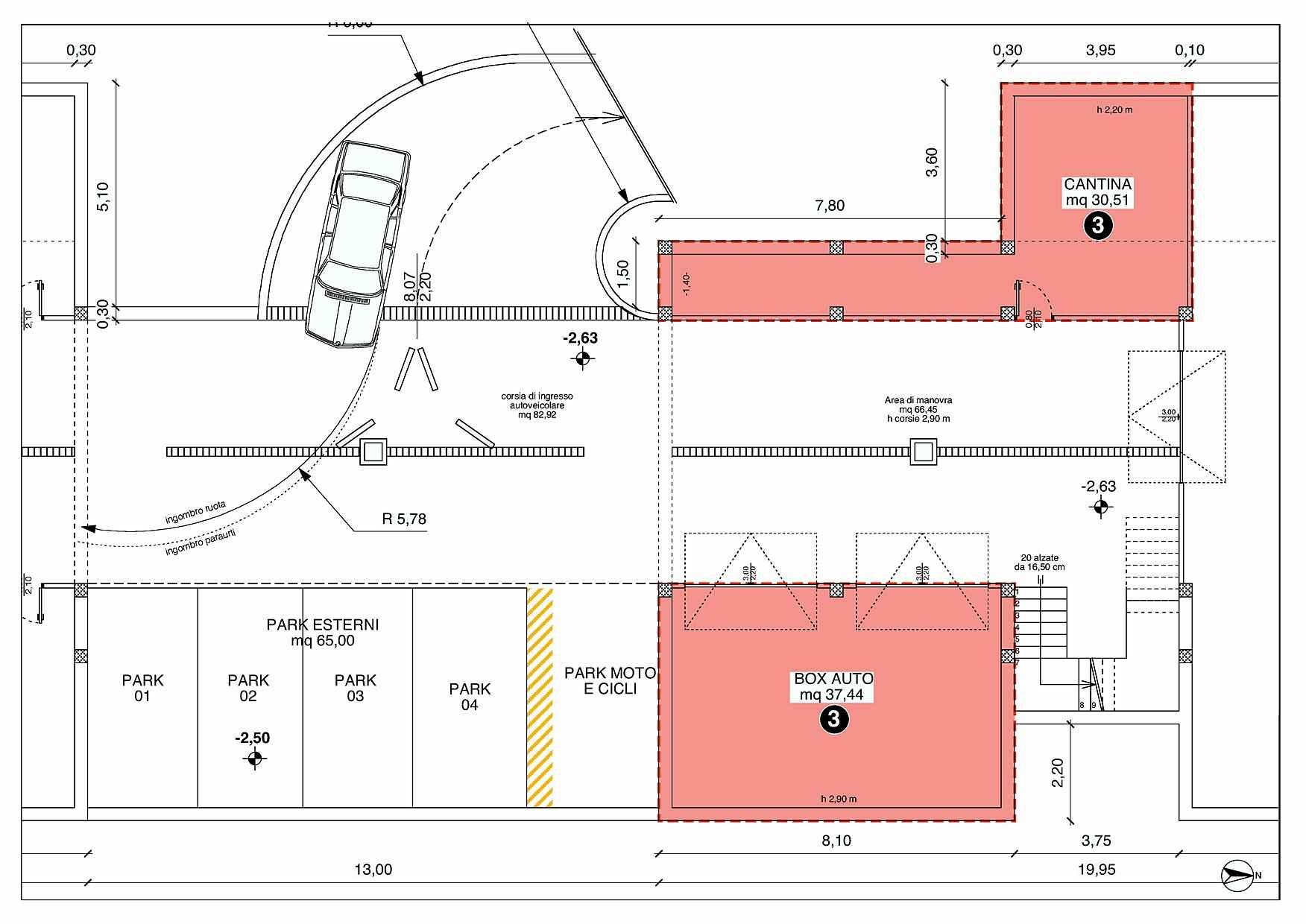Villetta a schiera casa 3 rigatelli costruzioni for Pianta villetta a schiera
