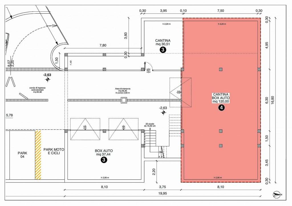 Casa4 pianta piano interrato riva del garda for Progettista del piano interrato
