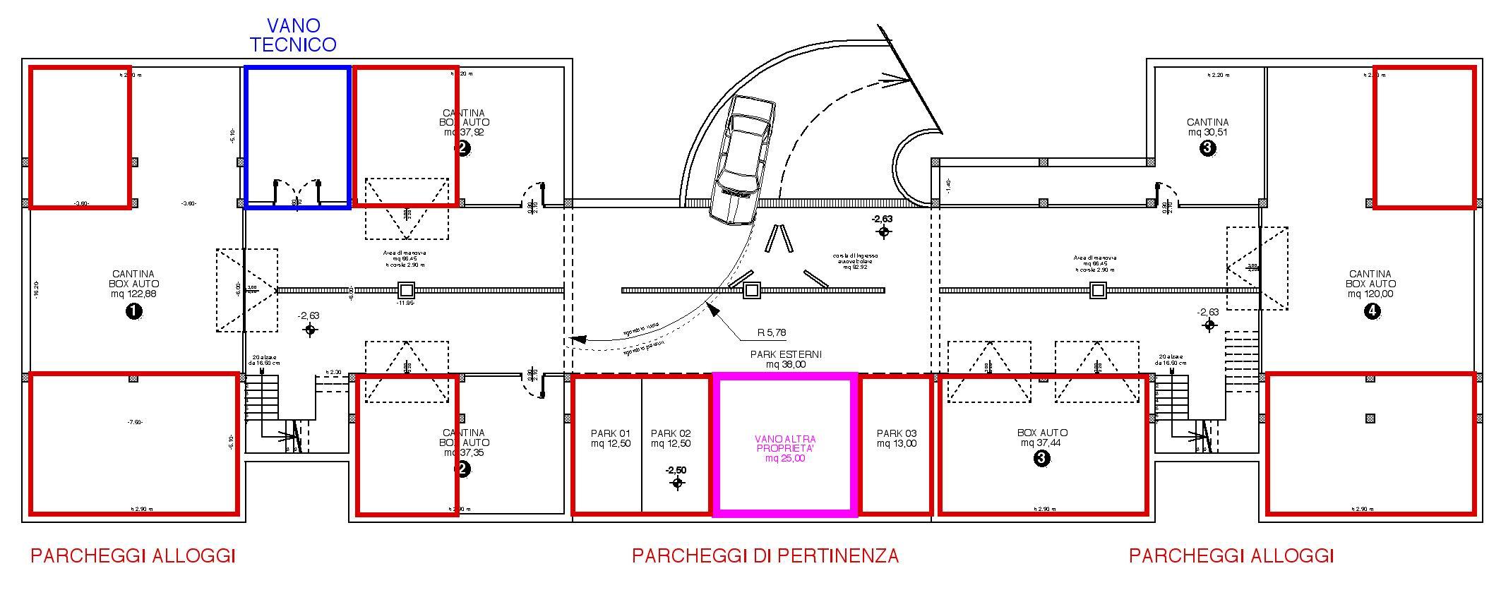 Nuove case a schiera in vendita a riva del garda for Garage con planimetrie abitative